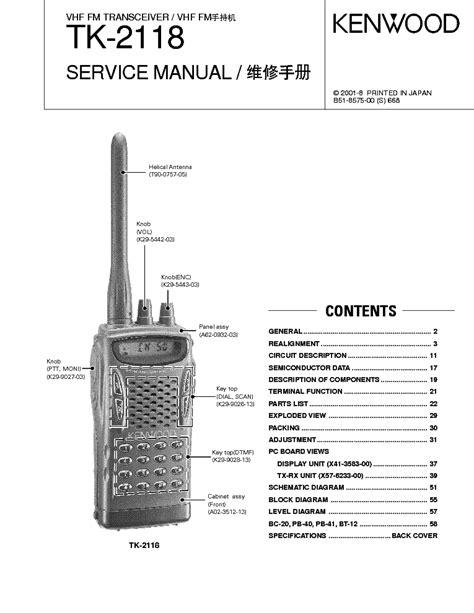 Kenwood Th 79 Service Manual Download Schematics Eeprom