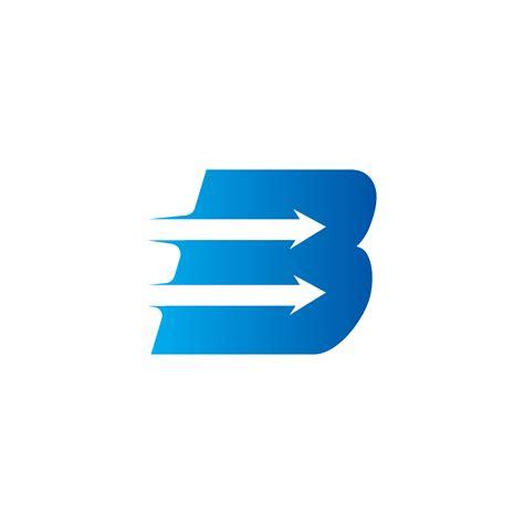 letter   arrow logo design template