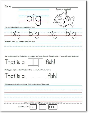 Writing Sight Words Worksheets Kindergarten by Pre Kindergarten Pre Primer Sight Word Sentences