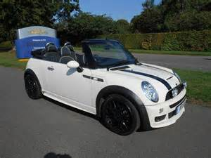 White Mini Cooper S For Sale Used Mini Convertible 2008 Automatic Petrol 1 6 Cooper S