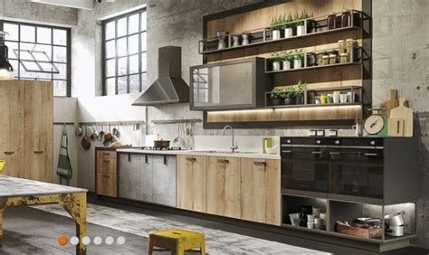 Designer Kitchens Magazine - cucina industrial design