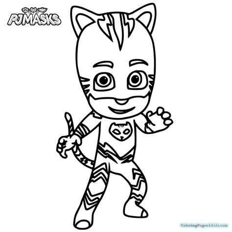 pj masks coloring pages black and white pj masks coloring pages 1013 coloring pages for kids