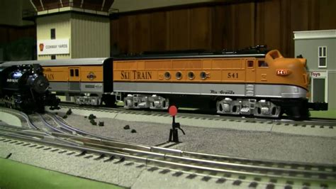 lionel layout youtube small 5x8 lionel layout update 2 youtube