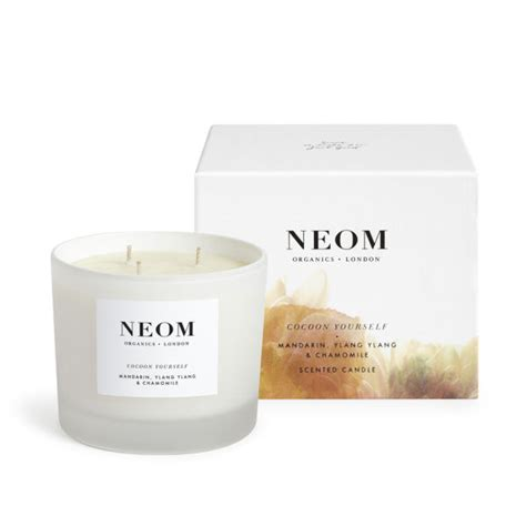 neom comforting candle neom organics cocoon yourself luxury scented candle free
