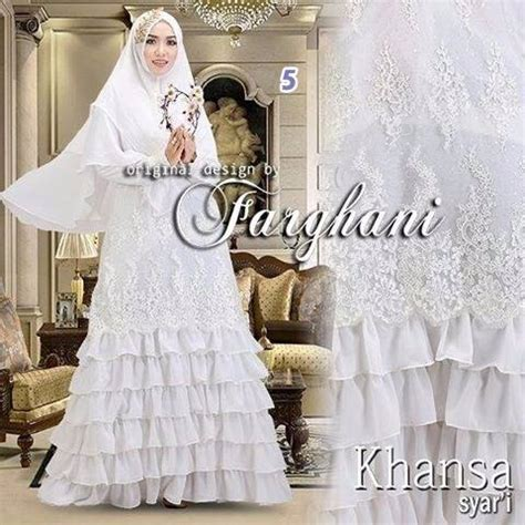 Baju Muslim Pesta Grosir Grosir Baju Gaun Pesta Busana Muslim Brokat Khansa Farghani