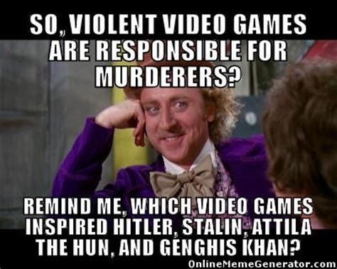 Meme The Game - violent video game memes image memes at relatably com