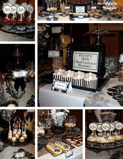 party themes guys decoration 50th birthday party ideas for men 50th