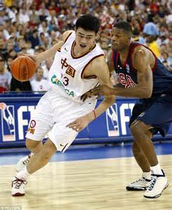 Operation Yao Ming Brook Larmer prince william s 7ft 6in yao ming was specially bred