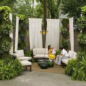 Outdoor Privacy Curtains Outdoor Spaces 10 Ideas For Creating Privacy