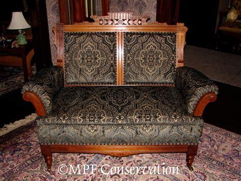 eastlake sofa upholstery restoration sofas loveseats recamiers