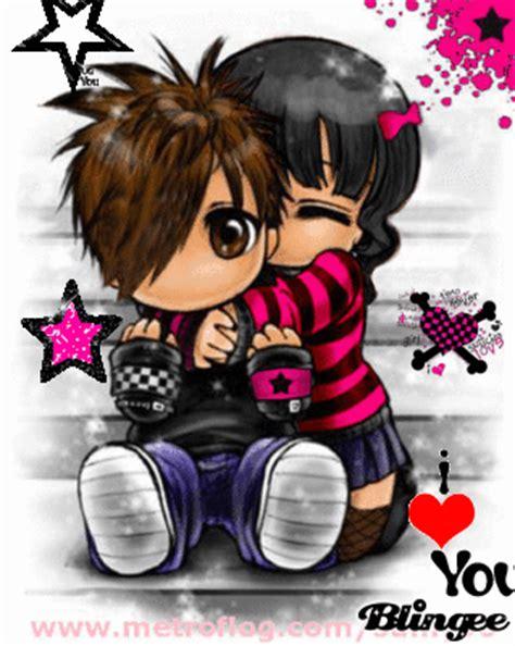 imagenes de emo te extraño fotos animadas amor emo para compartir 90188950 blingee com