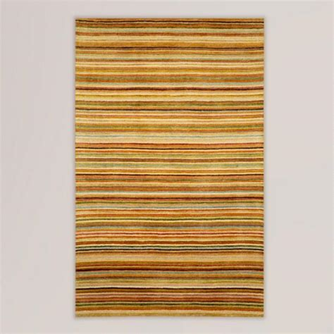 pastel striped rug pastel striped tufted wool rug world market