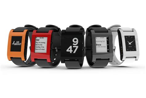 A brief analysis of the Pebble Smartwatch