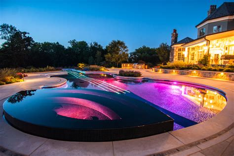 Custom Swimming Pool By Cipriano Landscape Design Beyond Amazing Swimming Pool Designs