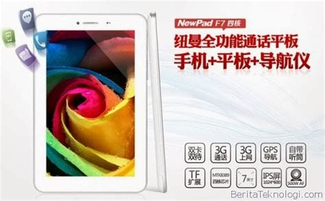Hp Asus Newpad F7 newpad f7 tablet dual sim android dengan ram 1gb rom 8gb one