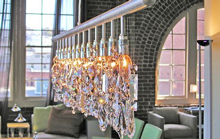 Linear Strand Crystal Chandelier Look 4 Less And Steals Linear Strand Chandelier