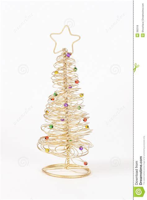 193 rbol de navidad del alambre fotos de archivo libres de