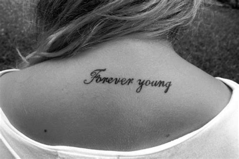 forever young tattoo ink