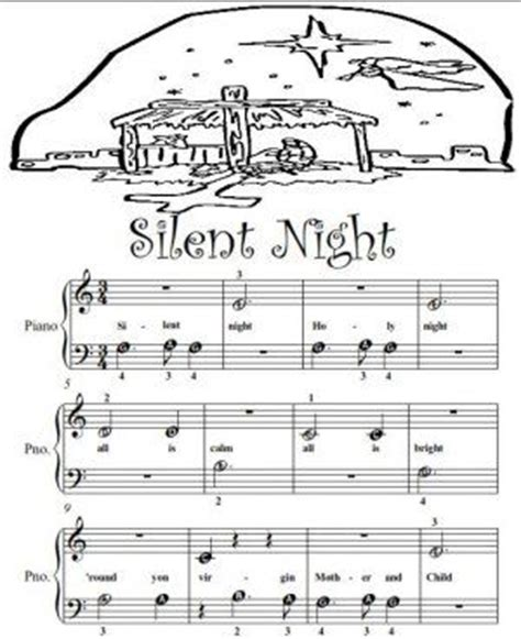 keyboard beginner tutorial pdf piano sheet music for beginners silent night beginner