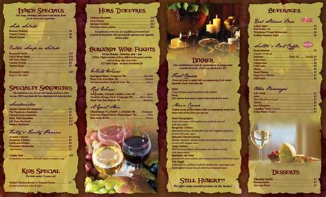 to go menu template the place color printing of business cards