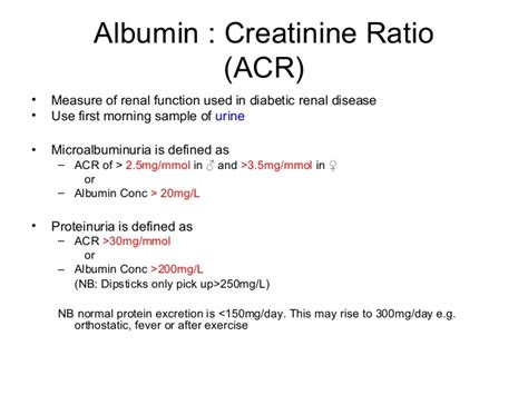 protein to creatinine ratio renal revision