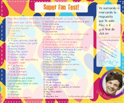 testi one direction directioners tests