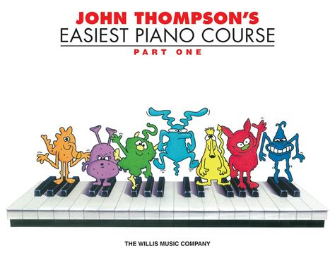 john thompsons easiest piano 0877180164 john thompson s easiest piano course part 1 john thompson 0786324072595 amazon com books