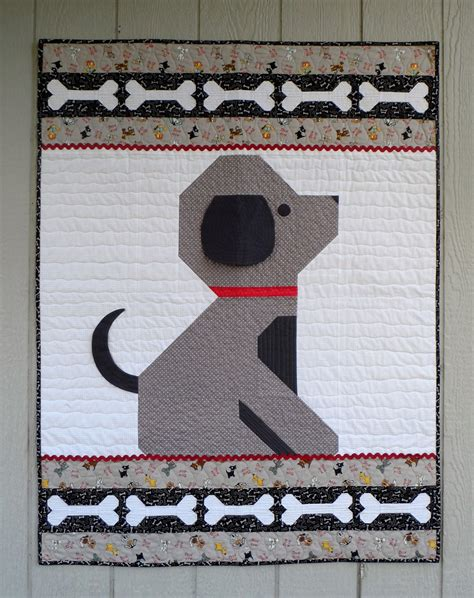 Puppy Quilt Pattern by Give A A Bone Baby Quilt Pattern