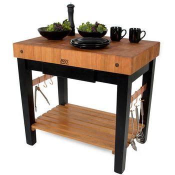 john boos grazzi kitchen island table w cherry top kitchen islands american cherry pro prep block w oil