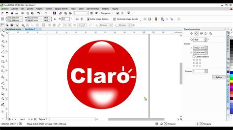 corel draw x7 italiano como hacer logo de claro con corel draw x7 youtube