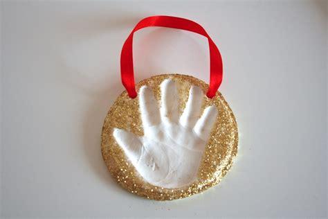 no bake christmas ornaments handprint dough recipe no bake