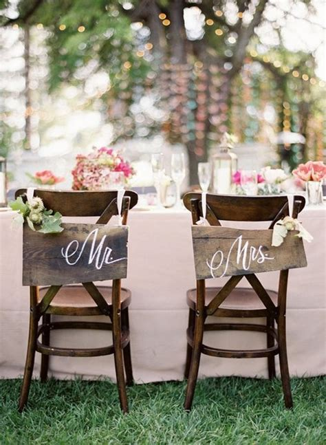diy chair decorations shine on your wedding day with these breath taking rustic wedding ideas diy projects