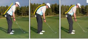 spine angle golf swing how important is golf posture solutions for golfers over 50