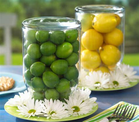 fiori limone centrotavola fai da te estivo con i limoni 4 idee da