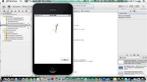tutorial xcode app iphone iphone sdk xcode 4 tutorial 17 core graphics animaci 243 n