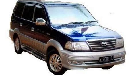 Cornerl Toyota Kijang Efi 2000 2002 harga pasaran kijang krista bekas lengkap berbagai tahun keluaran bensin dan diesel harga
