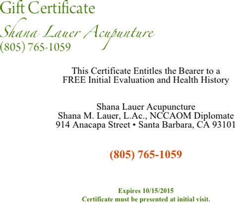 this certificate entitles the bearer to template gift certificate