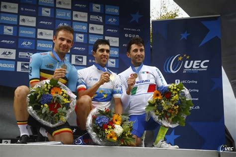 Pelung Ban Renang Pre Historic Rider 1 dijk beats olympic chion to secure historic time trial gold at european road cycling