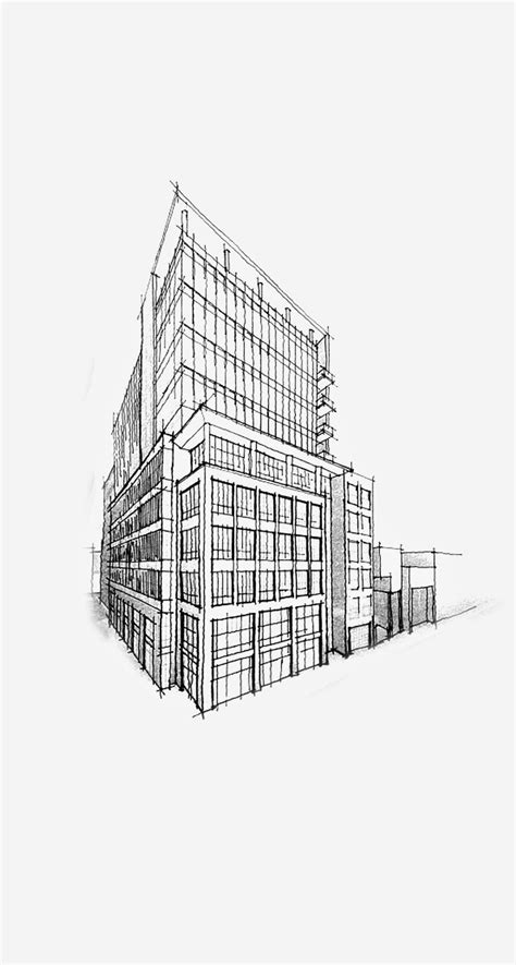 Sketches 4k Wallpaper by Building Pencil Sketch Architecture Iphone 6 Plus Hd