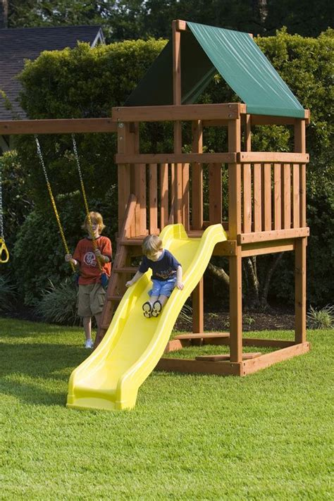 swing builder best 25 wooden playset ideas on pinterest kids playset