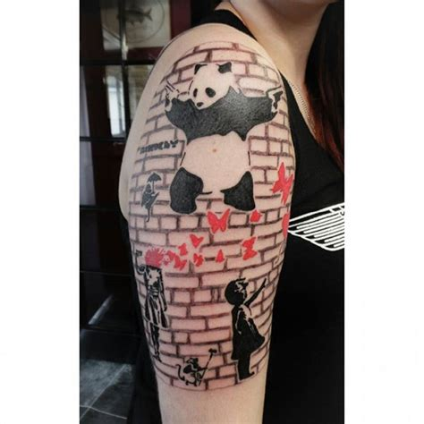 banksy tattoo sleeve www imgkid com the image kid has it