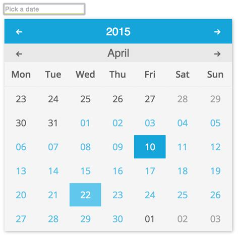 ionic datepicker tutorial github mobinni material date picker a simple material