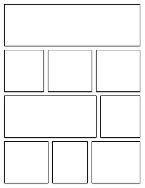 Graphic Novel Template Printable organizing 7th grade humanities