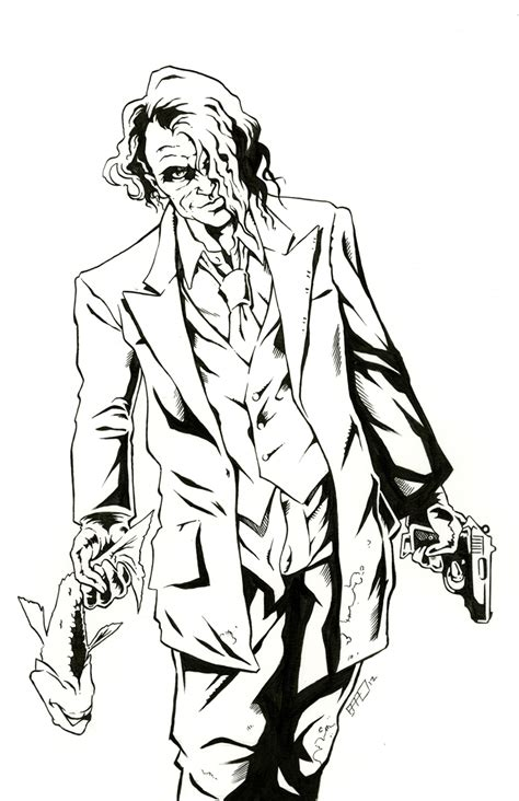 joker coloring pages easy simple joker coloring pages