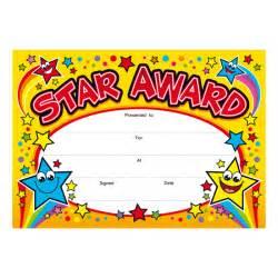 star award children s certificates brainwaves