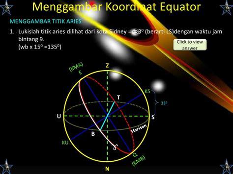 Lu Langit Langit tata koordinat benda langit