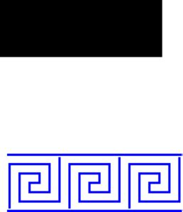 greek key coloring page greek key border colouring pages