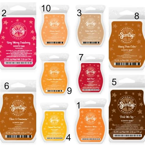 10 Sexiest New Scents For This Fall by Image Gallery Scentsy Scents