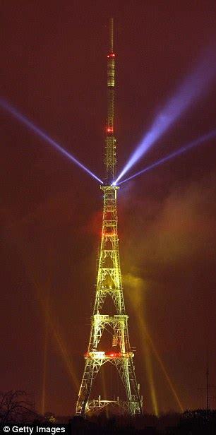 digital switchover crystal palace transmitter lights