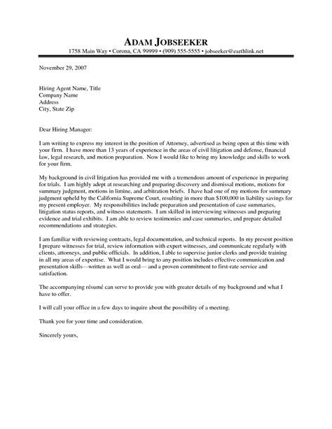 how to write a cover letter for a resume firm cover letter sle the letter sle